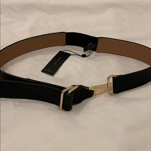 BCBGMAXAZRIA M/L unique black belt